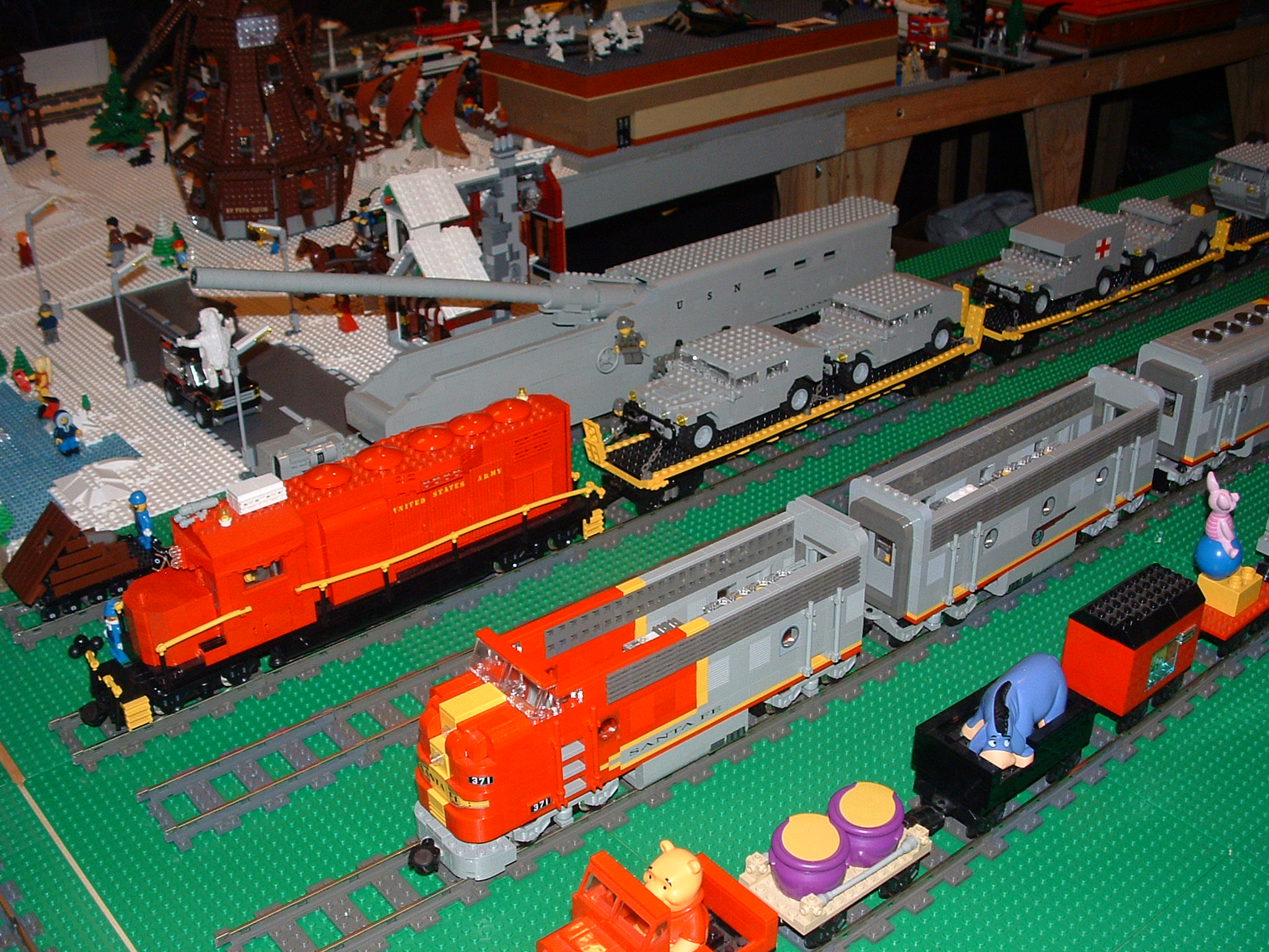 Brick Trains Sets Part 8