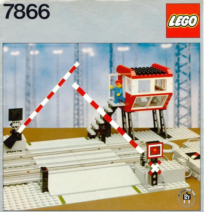 Lego 7866 Remote Controlled Road Crossing