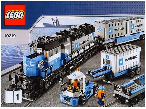 Lego 10219 Maersk Train Bricktrains Sets