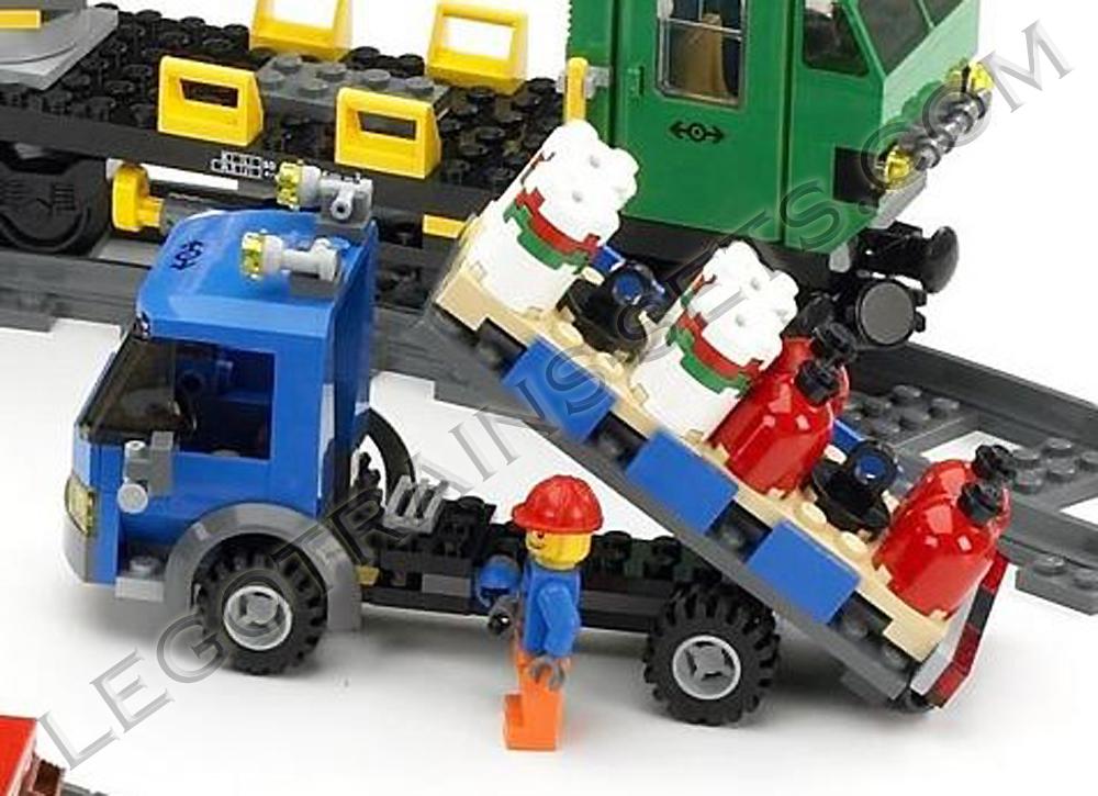 Lego Crane Train Lego 7898 Cargo Train Deluxe