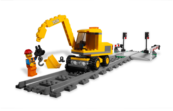 Lego 7936 Level Crossing - Overview