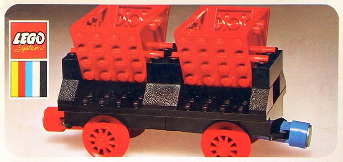 Lego 130 Double Tipper Wagon