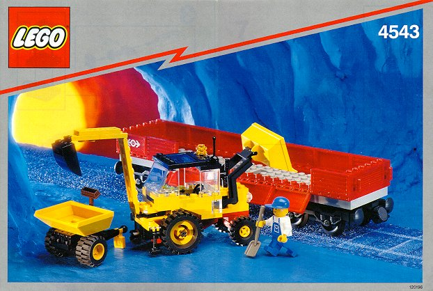 4543 Railroad Tractor Flatbed