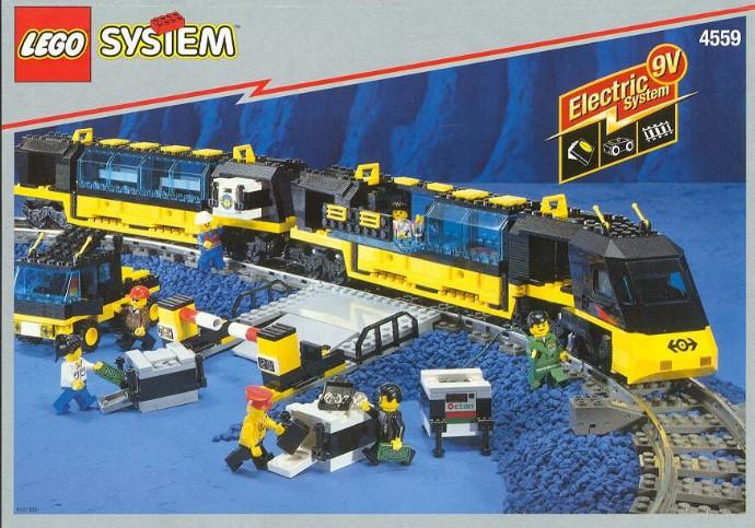 Как сделать поезд лего
