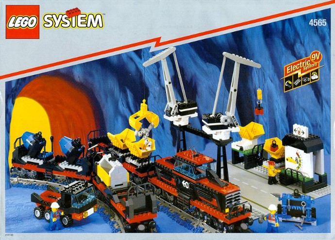 Lego 4565 Freight and Crane