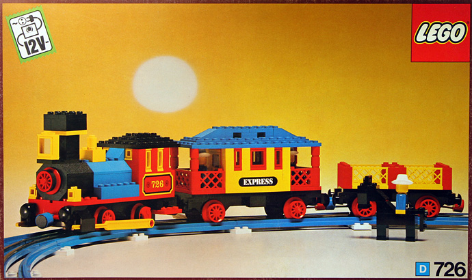 Lego 726 Western Train Bricktrains Sets