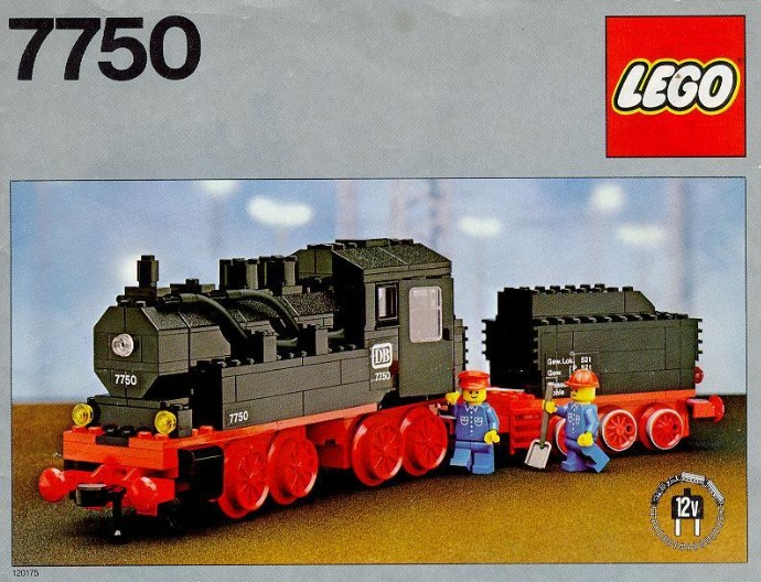 Lego 7750: Steam Engine with Tender
